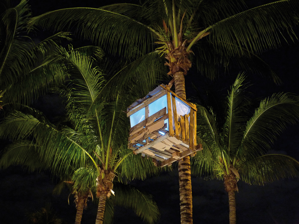 Treehouse #2, Installation View, NADA Art Fair, 2008