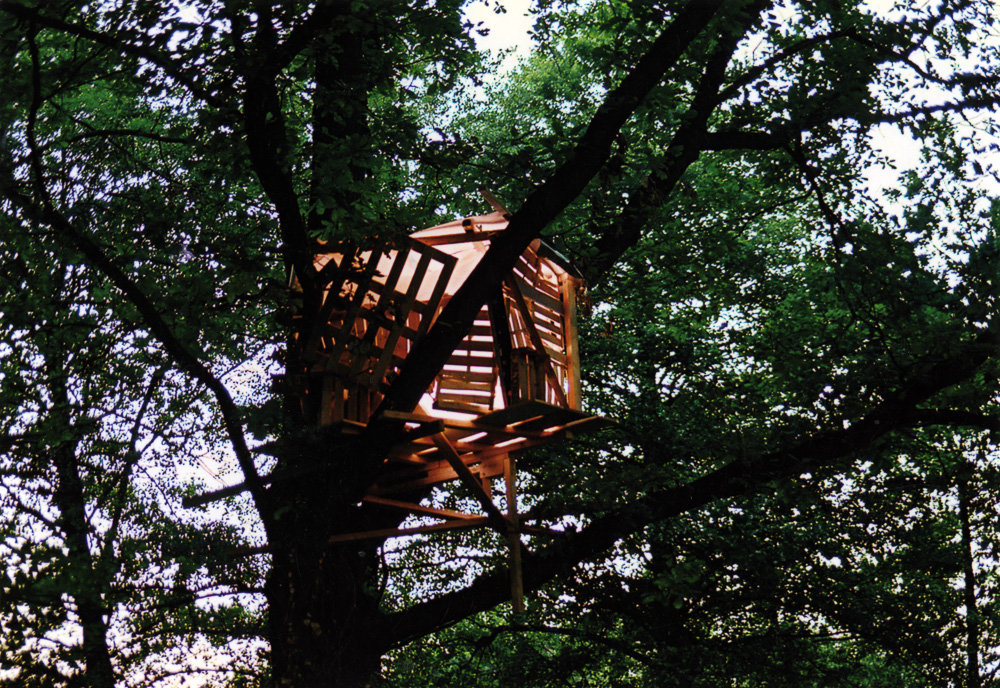 Treehouse #1, Installation View, Haus am Waldsee, 2006