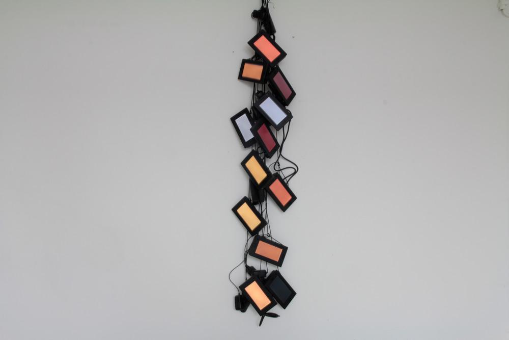 Bjørn Melhus, Critical System Alert (2009), Installation View, Galerie Patrick Ebensperger, 2013