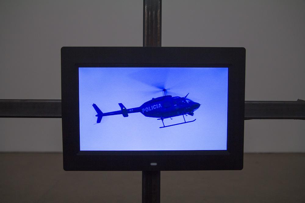 Policia, Installation View, Galerie Patrick Ebensperger, 2013