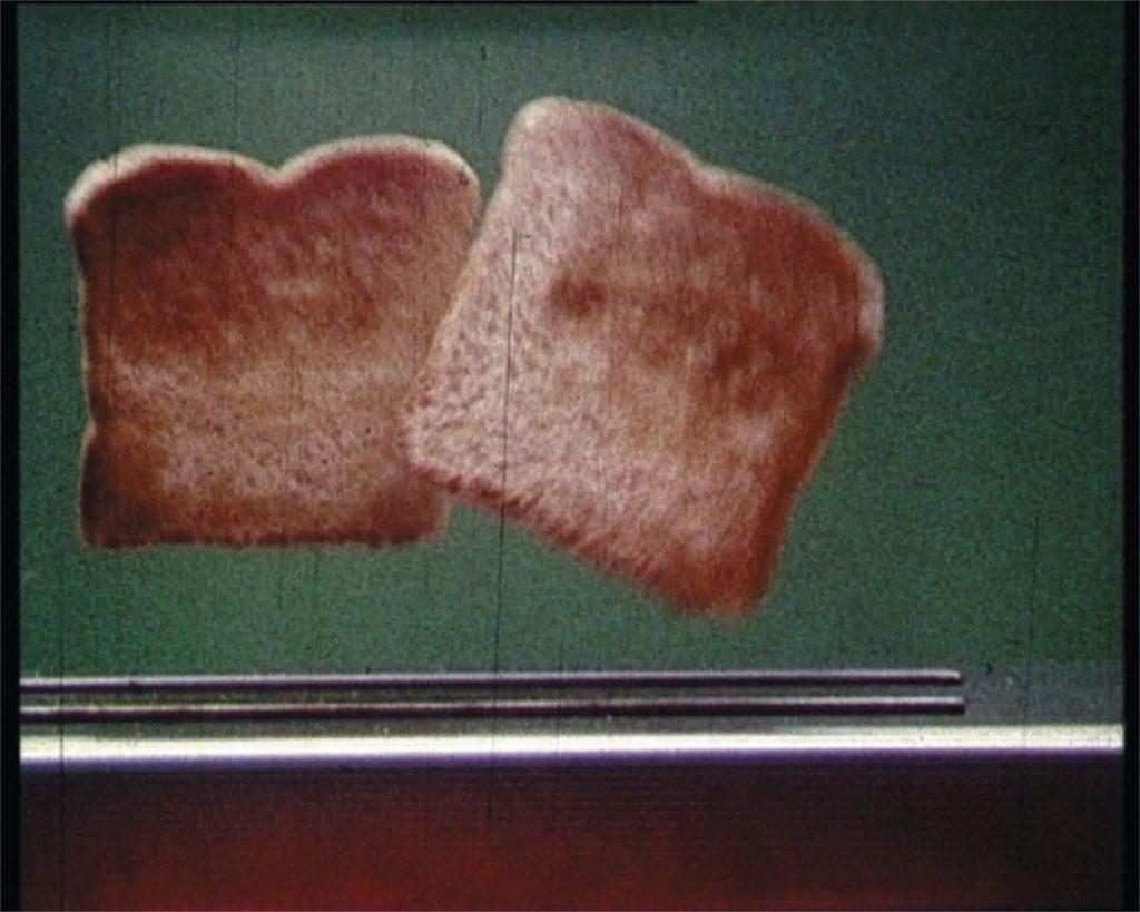 Bjørn Melhus, Toast, 16 mm film, 1986, Film Still