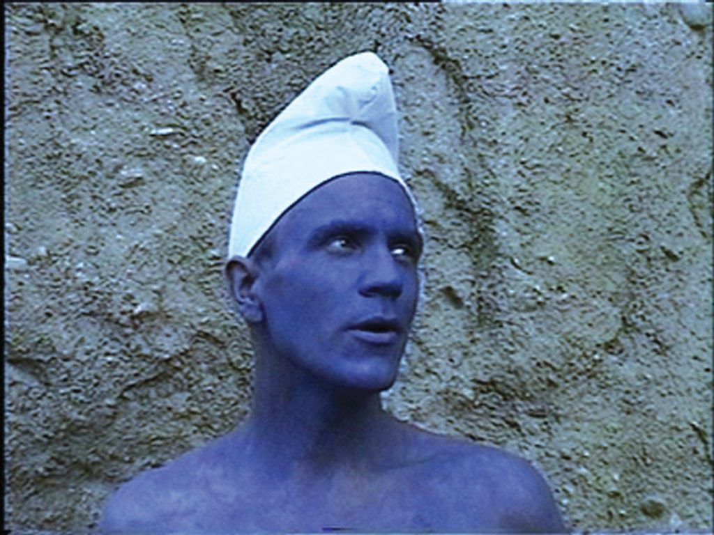 Bjørn Melhus, Blue Moon, Single Channel Video, 4 min., 1997, Video Still