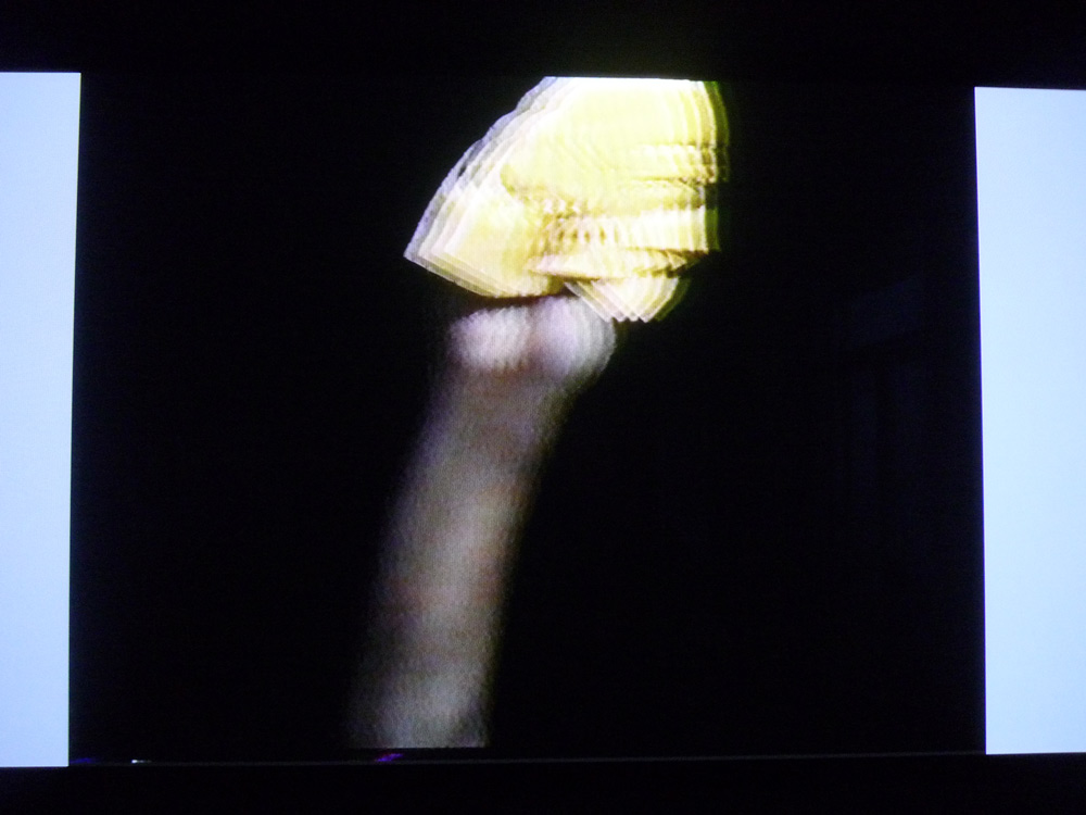 Bjørn Melhus, Reinigungskassette (Cleaning Tape), Video, VHS, 60 min., 1993, Video Still
