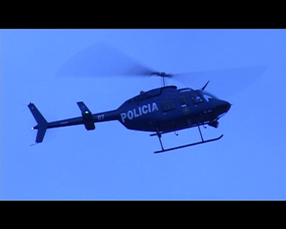 Policia, 2 frames, loop, 2007, Video Still