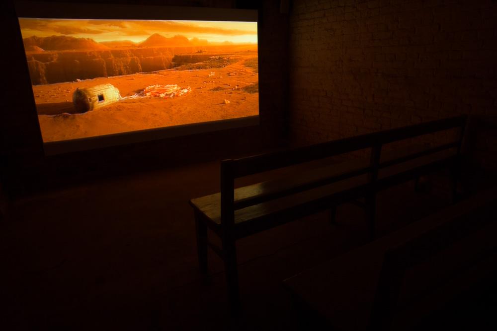 Scenery Mars, Installation View, Galerie Patrick Ebensperger, Berlin, 2013