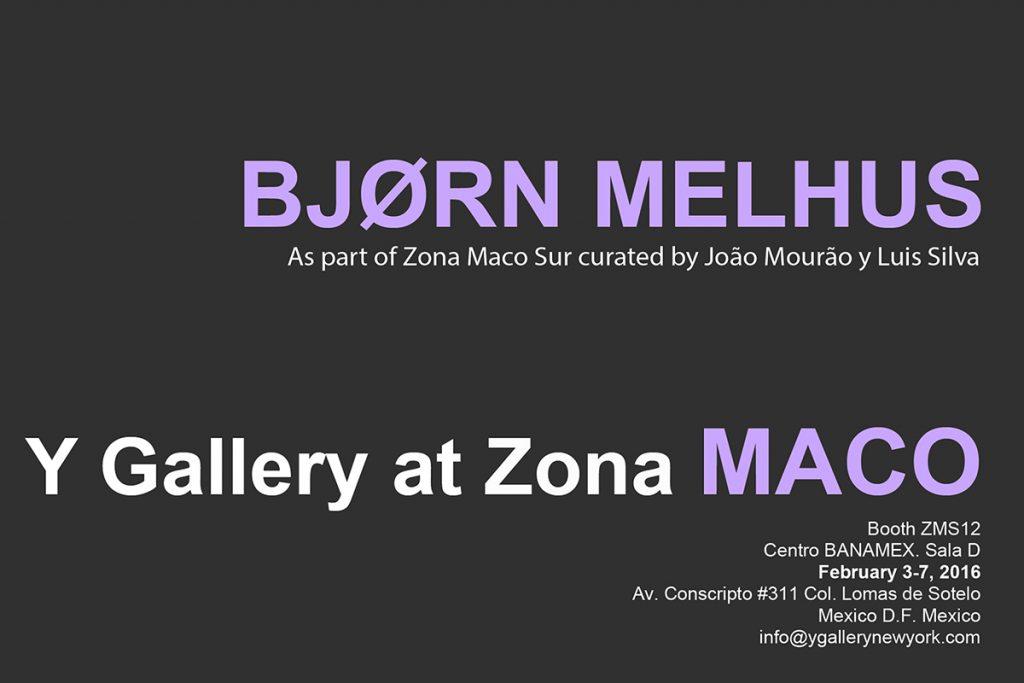 Y Gallery Zona Maco Bjørn